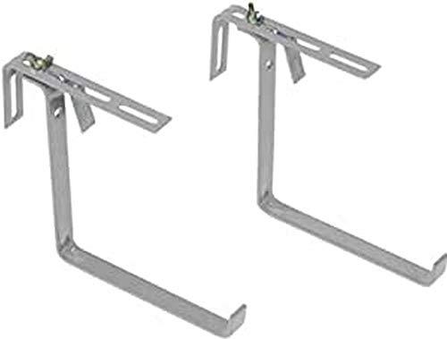Emsa 508699 - Gancho y Colgador para macetas (Aluminio), Color Aluminio