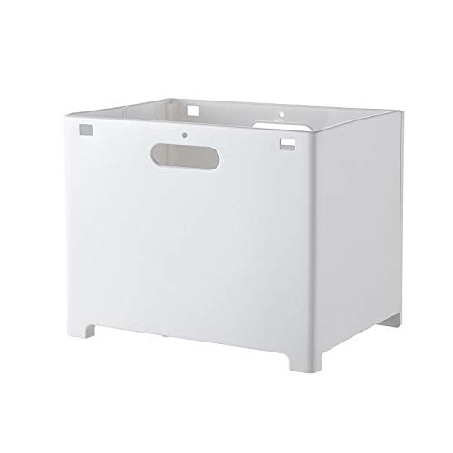 Cesta de Ropa Sucia Plegable Cesta de lavandería para Colgar en la Pared Cesta de lavandería para el hogar Cesta de Almacenamiento de Ropa Perforación Gratuita para Ropa, B