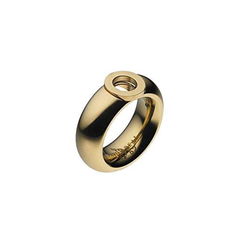 Pavo Real Ring Cadiz Gold 8,5 mm Curved Polished, Ringgröße:60