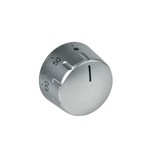 Bosch 416693 00416693 ORIGINAL Knebel Drehknopf Drehgriff Silber für Backofenthermostat Backofen Herd