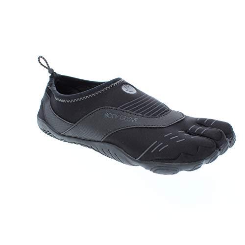 Body Glove Men's 3T Barefoot Cinch Water Shoe, Black/Black, 10