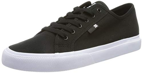DC Shoes Manual', Zapatillas Hombre, Negro BKW, 41 EU
