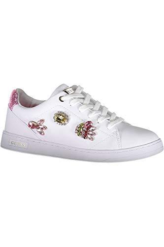Guess Jeans FL5CREELE12 Sportliches Schuhwerk Damen Bianco WHIRO 36