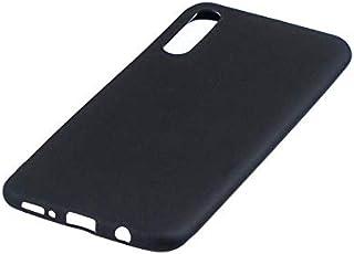 غطاء حماية أسود لهاتف جالاكسي A50، متوافق مع سامسونج جالاكسي A50 A50s A30s