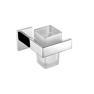 ZYT Porte brosse à dents en acier inoxydable acier mural 12.9 * 11.6 * 9.4 cm (5.08 * pouces 4.57 * 3.70) inox contemporain . silver
