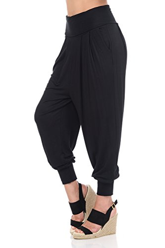 iconic luxe Women's Banded Waist Joggers with Pockets