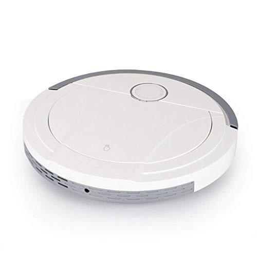 Robot Stofzuiger, Stofzuiger Huishoudelijke Opladen Drie-In-Een Automatische Sweeping Machine, 360° Smart Sensor Protectio, Meerdere Schoonmaak Modi Stofzuiger Beste, Zwart (Kleur : Zwart)