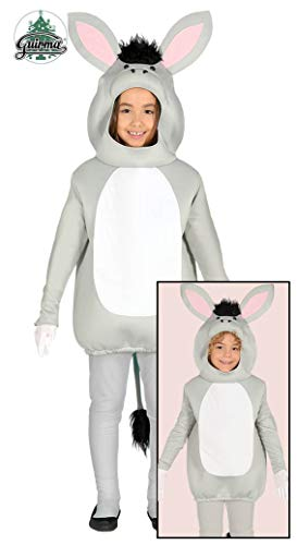 Disfraz de Burro Gris para niños