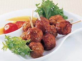ケイエス冷凍食品『国産鶏 鶏つくね串(照焼)』