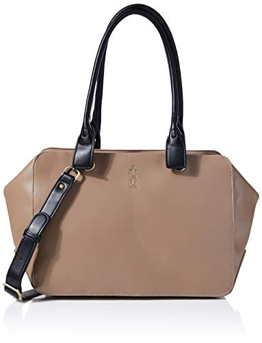 Fly London AVES698FLY, Bolso de mano para Mujer, Beige, One Size