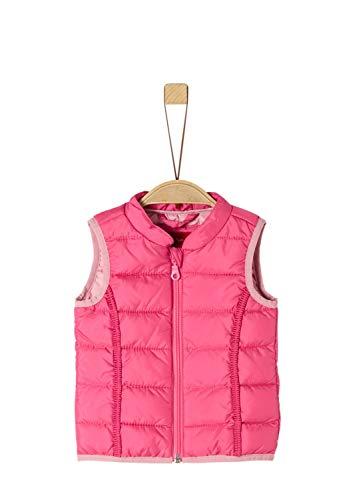 s.Oliver RED LABEL Unisex - Baby Steppweste mit Zierborte pink 92