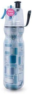 MYD888 Botella Isotérmica Doble Capa Botella del Agua Deporte Reutilizable De Plastico con Bidón para Bicicleta 590Ml