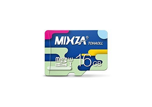 MIXZA Performance Grade 16GB Karbonn K9 Music 4G MicroSDHC Card is Pro-Speed, Heat & Cold Resistant, and Built for Lifetime of Constant Use! (UHS-I3.080MBs)