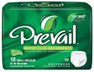Prevail PVS-512 Pull-on Brief - Small/Medium - 72/Case