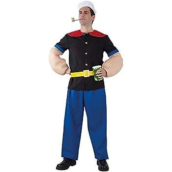 DISBACANAL Disfraz Popeye - -, XL: Amazon.es: Juguetes y juegos