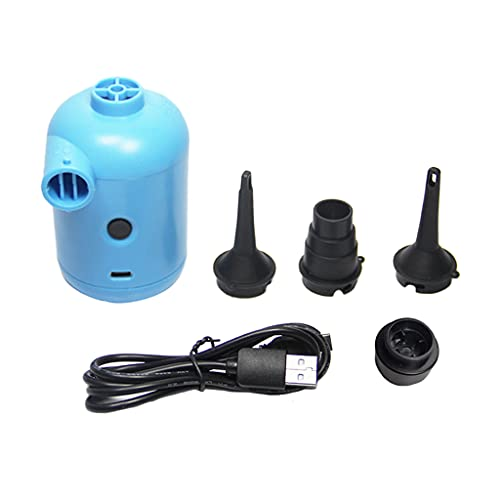 HomeDecTime Bombas de Aire Pequeñas Eléctricas para Bolsas de Almacenamiento de Vacío de Cama de Aire Balsa Inflable
