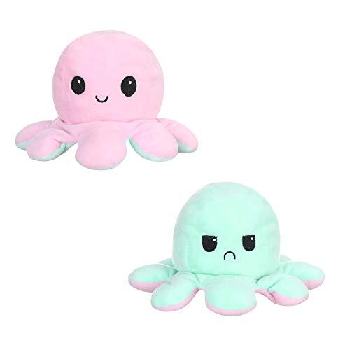 Kinderspielzeug Geschenk Plüschtiere niedlich kleine Toy doppelseitige Flip Doll Soft Cabrio Flip Plüsch Spielzeug Puppe