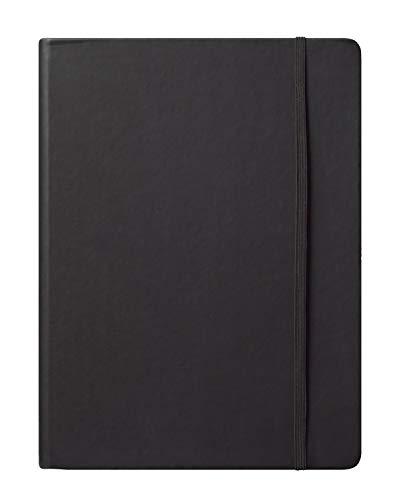 Eccolo World Traveler Cool Jazz Journal, Black, 7 x 10 Inches (BC501N)