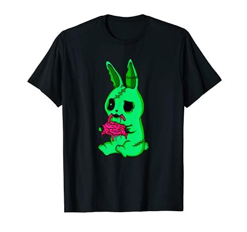 Disfraz de conejito de zombie, regalo de conejo muer Camiseta