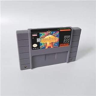 Game card - Game Cartridge 16 Bit SNES , Game Earthbound (Little Pony Version Earthbound) Game Cartridge USA Version English Language Save File