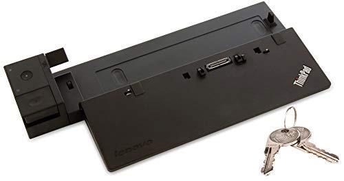 Perfect Case von MaryCom Lenovo ThinkPad Pro Dock für T440 T450 T460 T470 T550 T560 T570 X240 X250 X260 X270 W540 W541 W550s P50s P51s | MIT SCHLÜSSEL | OHNE NETZTEIL | (Generalüberholt)
