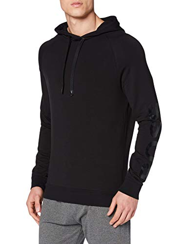 BOSS Fashion Sweatshirt H Sudadera, Negro1, XS para Hombre