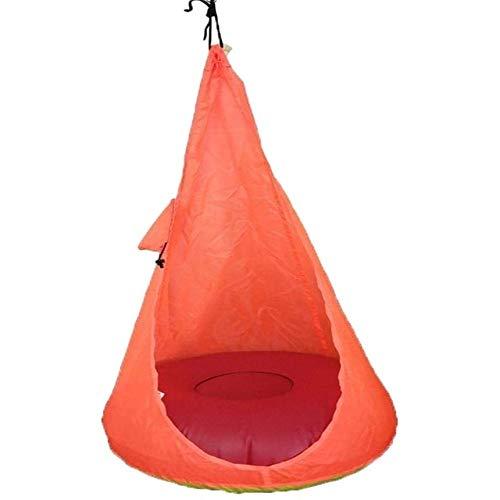 HDS Intérieur adulte Hamac Chaise Balançoire Mobilier de jardin Loisirs Sleeping Hamaca Double Voyage Bed Hammock Hanging (Color : Orange)