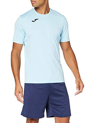 Joma Combi Camiseta Manga Corta, Hombre, Azul (Celeste), M