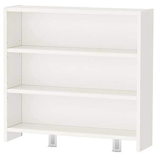 Ik ea PÅHL Estantería librería de escritorio, blanco, verde, 64 x 60 cm