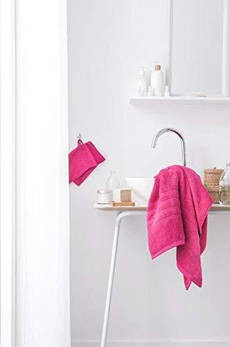Today Lot de 2 Gants Coton, Fuschia, 21x16 cm