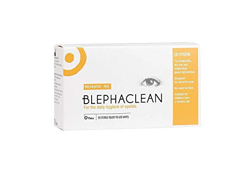 BLEPHACLEAN Yeux Wipes 20's