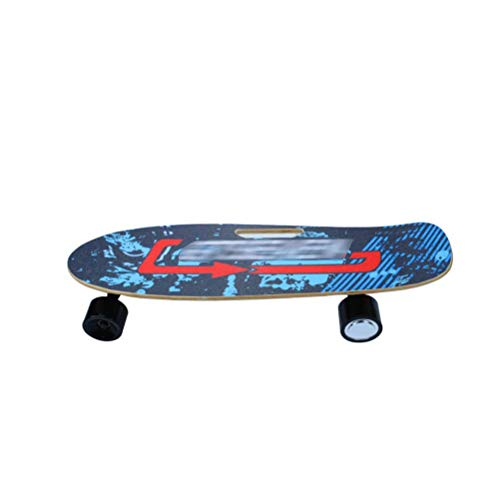Affordable BIN Novice Electric Skateboard, Beginner Four-Wheeled Skateboard, Wireless Remote Control...