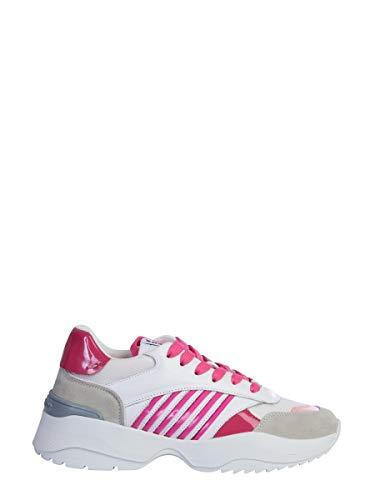 DSQUARED2 Luxury Fashion SNW007701502274M1860 - Zapatillas Deportivas para Mujer, Color Blanco Blanco Size: 40 EU