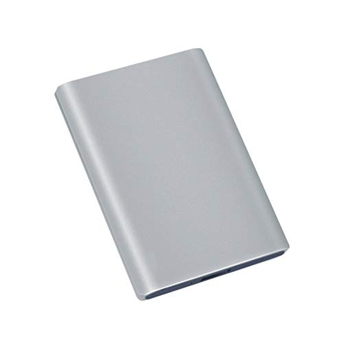 Hdd External Hard Drive 2tb/1tb/500gb, 2.5-inch Metal Portable Usb 3.0 Mobile Hard Drive, Suitable for Pc, Desktop, Laptop, Macbook, Xbox One, Ps4, Smart Tv (Capacity : 320GB, Color : Silver)