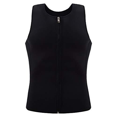 ABOOFAN Hombres Use Fitness Chaleco De Secado Rápido Undershirt Fitness Close- Fit Chaleco Talla XL Negro