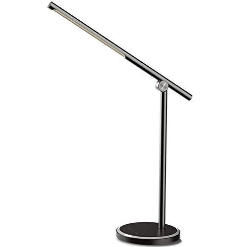 Lámpara De Escritorio LED,USB Estudiante Niños Luz De Lectura Lámpara De Escritorio De Aprendizaje Táctil Inteligenteplegable Creativa, Temperatura De 5 Colores Ajustable