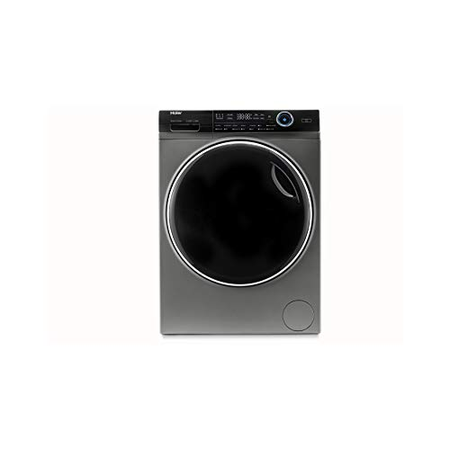 Haier HWD100-B14979S Freestanding Washer Dryer, Direct Motion and LED Display, 1400RPM 10kg/6kg Load, Graphite