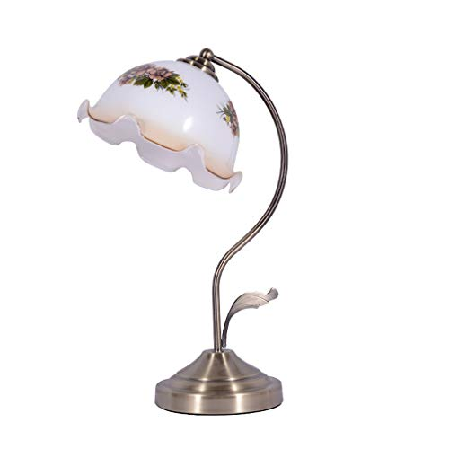Xwyun modern LED bed light, American creative glass table lamp, nost¨¢lgico room room bank...