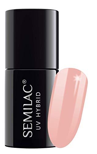 semilac UV Hybrid Nagellack, Anzahl 053, 7ml, French Pink Milch