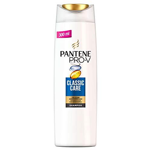 Champú para cabello normal de Pantene Pro-V Classic Care. Pack de 6 unidades de 300ml