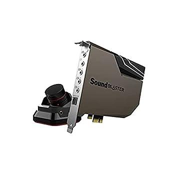 Creative Sound Blaster AE-7 Hi-Res Internal PCIe Sound Card Quad-Core Processor 127dB DNR ESS SABRE-class 9018 DAC Xamp Discrete Custom Bi-amp Discrete 5.1/Virtual 7.1 Dolby DTS Encoding  Black