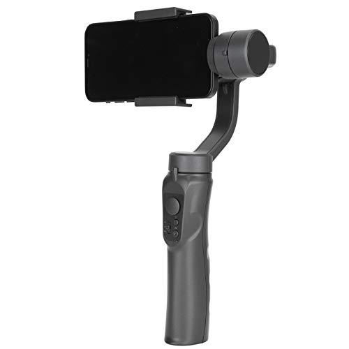 Gimbal estabilizador de 3 eixos, leve, portátil, time-lapse, AI, rastreamento, estabilizador, gimbal para celular com lapso de tempo de iniciação automática com tripé aderente, para gravação de vídeo ao vivo Vlog no YouTuber