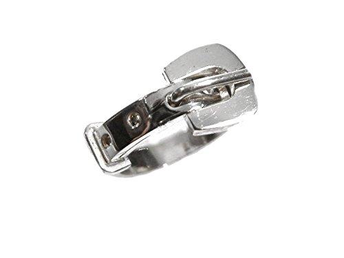 mr.goldis Gürtelring Silber 925 Gürtel Ring Schnalle 3,5mm Breit