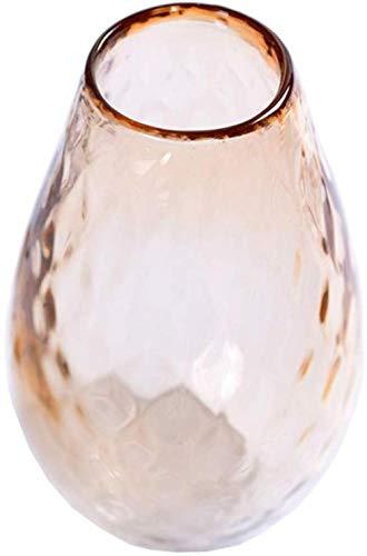 Roze glazen vaas Flowers/Dry Bloemschikken apparaat for thuis/hotel/Office Decoratie zonder bloemen