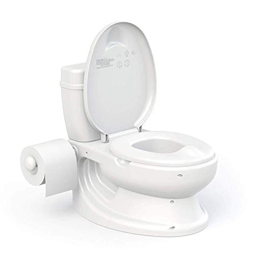 Vinsani WHITE Toddler Infant First Potty WC - Educational Potty Training Aid Toy
