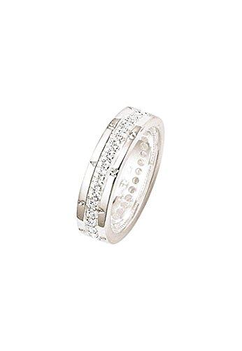Thomas Sabo Eternityring Classic Weiß TR1701-051-14-54 Ringgröße 54/17,2