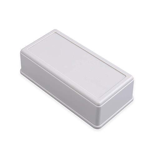 3 piezas de plástico Housing Electronic Enclosure Case Project Box Small Black White Kunststoffgehäuse Bahar Enclosure BMD Serie