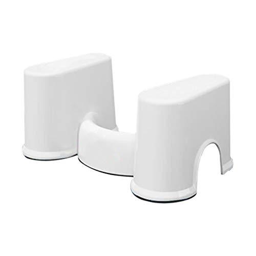 WC de bain Tabourets Tabouret amovible - Marchepied de salle de bain (blanc) (Couleur : B)