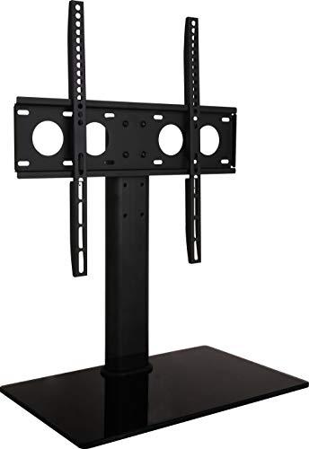 powerful Universal TV Desktop Stand-Replace VESA Desktop Center Mount with AV Media …