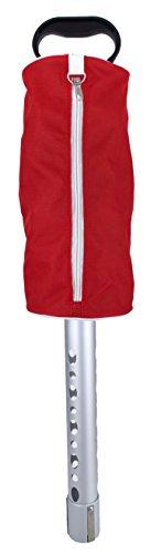 Zip-Up Golf Ball Shag Bag (Red)